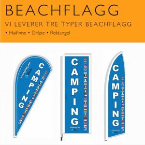 Beachflagg Camping