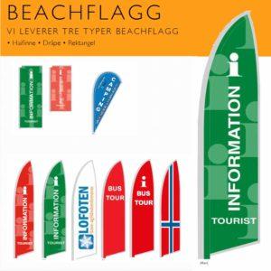 Turistkontor Beachflagg