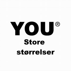 You Store størrelser