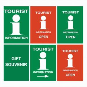 Turistkontor gatebukk plakater