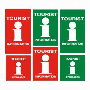 Turistkontor etiketter